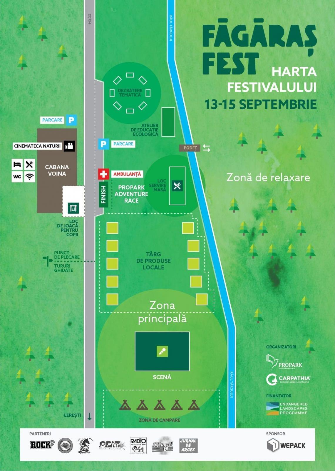 harta Fagaras Fest